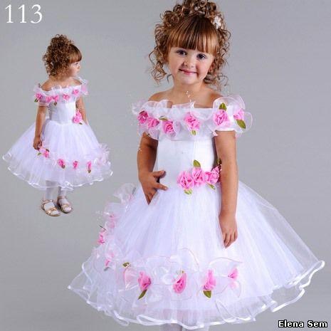 Как сшить новогоднее платье своими руками для девочки